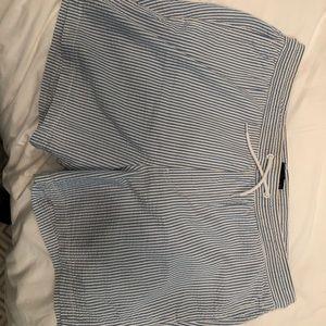 Men's ASOS seersucker swim shorts size 34 waist